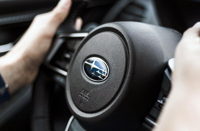 does subaru use real leather