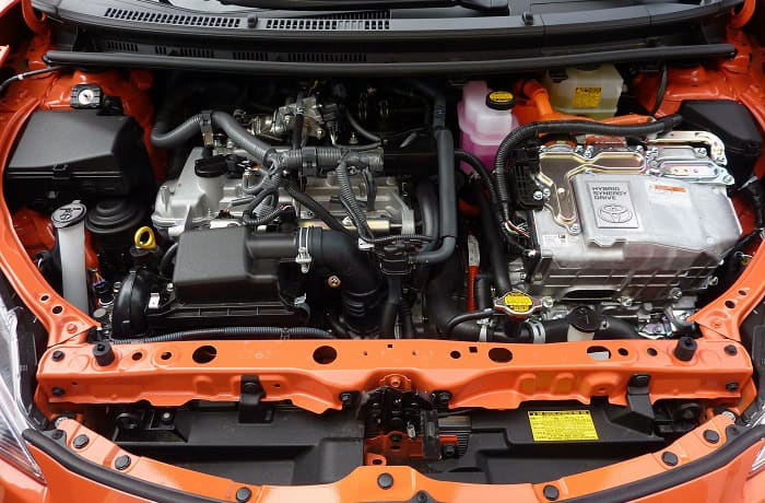 how to clean power steering fluid off engine