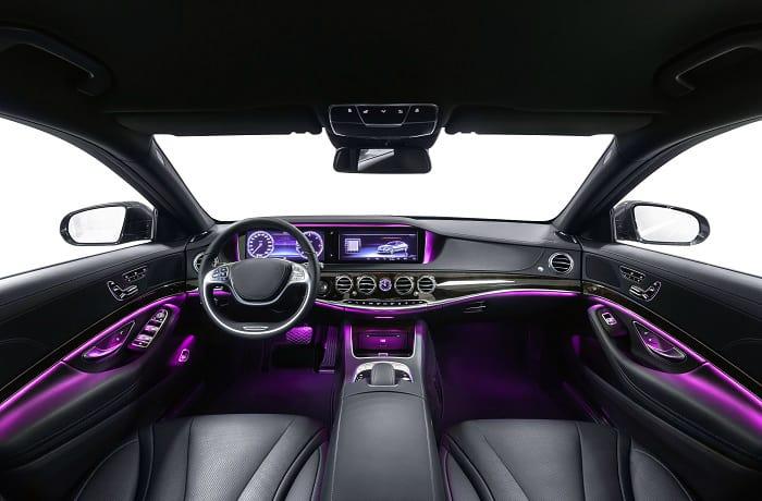 change car interior color cost