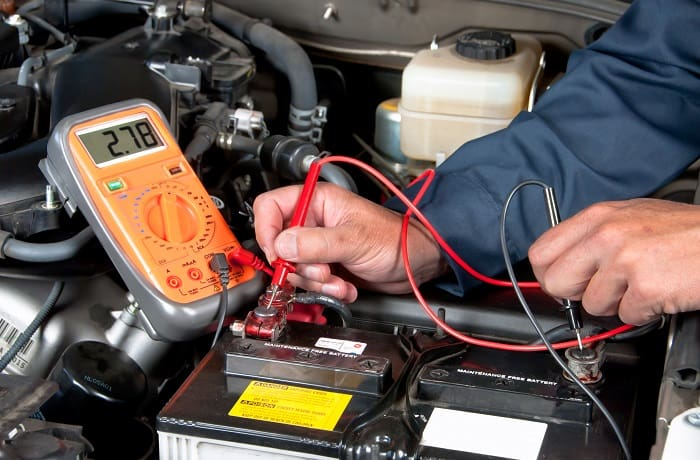 can a weak battery cause a car to run rough