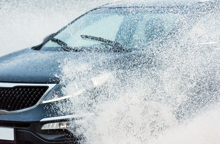 does rain remove car wax
