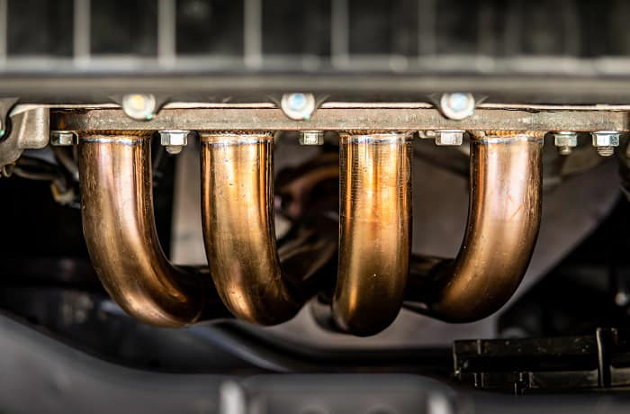 can exhaust headers be powder coated