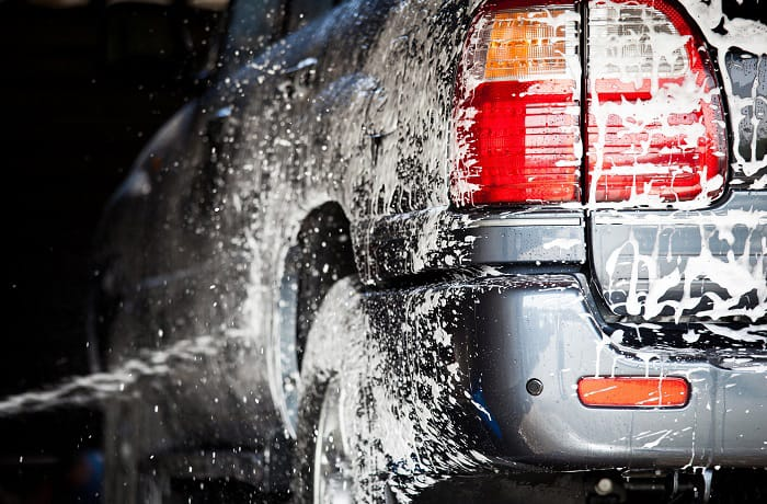 how to remove soap stains from car paint