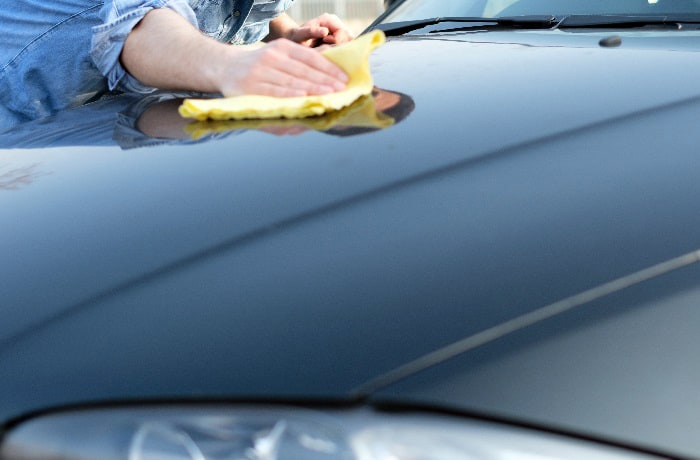 how to remove nail polish from car paint